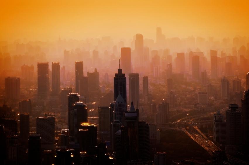 Big city - panorama