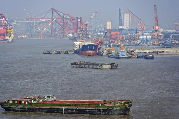 Shanghai shipyard