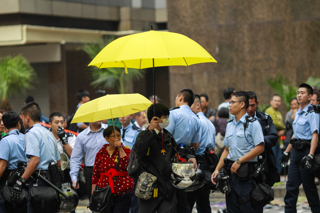 Hong Kong Ocuppy Protest End