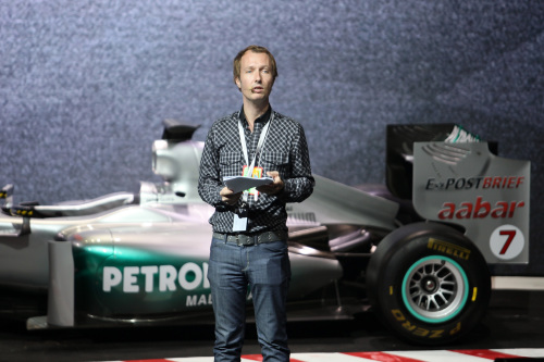 TL at F1 event