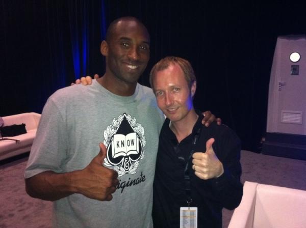 TL with Kobe Bryant
